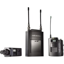 Audio-Technica ATW-1813D Single Wireless Combo System with Single Receiver, Transmitter, Transmitter & Lavalier Microphone