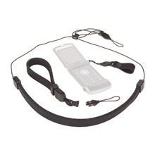 Op/Tech 3401111 Compact Strap Trio - Neck, Wrist & Finger Strap System for Compact Cameras & Other Gear - Black