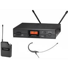 Audio-Technica ATW-2192- 2000 Series Frequency-agile True Diversity UHF Wireless System with Microset Headworn Microphone