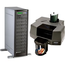 MicroBoards BUNDLE CWPR PF3 CD Tower and Print Factory 3 Bundle