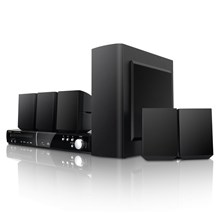 Coby Electronics DVD938 5.1-Channel DVD Home Theater System with Digital AM/FM Tuner Black
