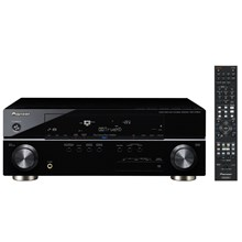 Pioneer VSX-1019AH-K 120 Watts A/V Receiver with HDMI Repeater 4 In/1 Out, Faroudja I080p Video Scaler and iPod Zone 2 with OSD Black