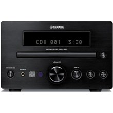 Yamaha Corp. of Americ CRX-330BL Micro Component Receiver CD Player Unit