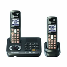 Panasonic KX-TG6442T G6441T DECT 6.0 Expandable Digital Cordless Phone System