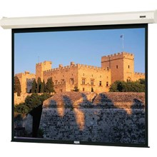Da-Lite 40780L Cosmopolitan Electrol w/ Low Voltage Control System - Projection screen motorized - 1:1 - Matte White