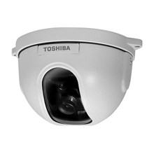 Toshiba Y57751 IK-DF03A Mini-Dome Color Camera with 8mm Lens.