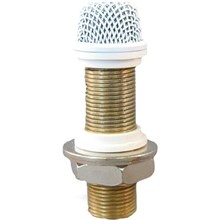 Astatic 220VPW Continuously Variable Surface Mount Boundary Microphone White