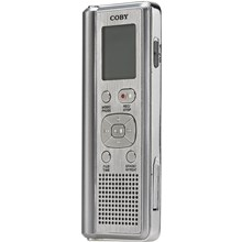Coby Electronics CXR190-1G 1GB Digital Voice Recorder With Integrated Speaker