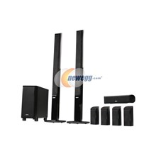 Sony SA-VS350H Floor Standing Home Theater Speaker System, 8 Piece