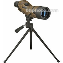 """Bushnell 781837 Sentry 2.0""""/50mm Waterproof Spotting Scope Straight Viewing with 18-36x Zoom Eyepiece, Tabletop Tripod & Case 39-49 Degree Apparent Field of View - Camouflage"""
