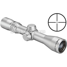 Bushnell 322632S 2-6x32 Elite 3200 Waterproof & Fogproof Riflescope 1.9-0.8 Degree Angle of View with Multi-X Reticle - Silver