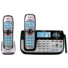 Uniden DECT2185-2 DECT 6.0 Digital Cordless Phone with Digital Answering System with Extra Handset