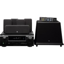 Denon DHT590BA 5.1 Channel Home Theater System with AV Receiver and Boston Acoustics