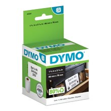 DYMO Dymo 30326 Corp VHS Top - video tape labels - 150 labels Direct thermal