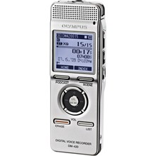 Olympus 140146 DM-420 Digital Voice Recorder with MP3 Player - Silver