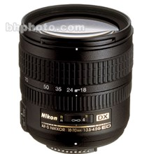 Nikon 2149 Zoom Super Wide Angle AF 18-70mm f/3.5-4.5 G-AFS ED-IF DX Autofocus Lens