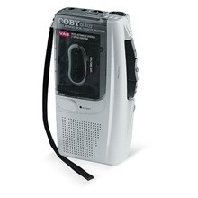 Coby Electronics CX-R122 Micro Cassette Recorder