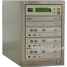 Alera Technologies 260135 1:3 DVD/CD COPY TOWER PLUS 12X BEIGE DVD/CD DUPLICATOR COPIER