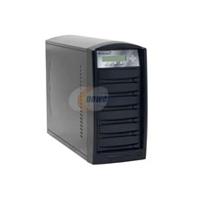 Vinpower VP4690-NEC-5BK Black 1 to 5 DVD Duplicator with NEC Drive, 80GB HDD and Password Protection Model