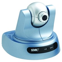 SMC SMCWIPCAM-G WIPCAM-G EZ Connect Wireless IP Camera with Pan/Tilt - Color - CMOS - Wireless IEEE 802.11b/g, Cable