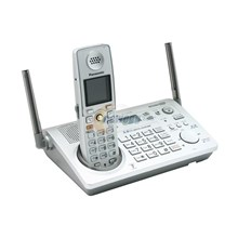 "Panasonic KXTG5776S 5.8GHz Expandable Cordless Phone System with 1.5""Full-Color Backlit LCD"