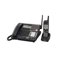 Panasonic KX-TG4500B 5.8GHz Expandable 4-Line Multi-Handset Cordless System with Caller ID and Answering System