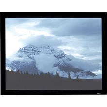 "Draper 253288 Onyx Manual Projection Screen - Permanently Tensioned - 52 x 92"" - 106"" Diagonal - HDTV Format 16:9 Aspect - M1300 with Veltex Covered Frame"