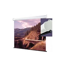 """Draper 207100 Luma Manual Projection Screen - Wall or Ceiling Mounted - Non-Tensioned - 45 x 80"""" - 92"""" Diagonal - HDTV Format 16:9 Aspect - Matte White"""