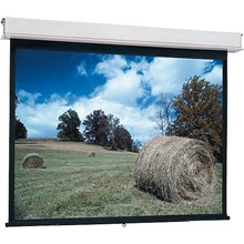 "Da-Lite 85717 Advantage Manual Screen with CSR Controlled Screen Return - 87 x 116"" - 150"" Diagonal - Video Format 4:3 Aspect - Matte White"