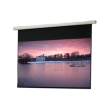 "Draper N09271 Salara Electric Plug 'N Play Front Projection Screen - 52 x 92"" - 106"" Diagonal - HDTV Format 16:9 Aspect - Matte White"