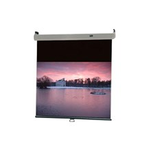 "Draper 206005 Luma 2 Projection Screen - Wall or Ceiling Mounted - Non-Tensioned - 6 x 8' - 120"" Diagonal - Square Format - Matte White"