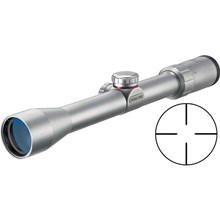 Simmons 511073 3-9x32 A/O 22 MAG Waterproof & Fogproof Riflescope 6.3-2.1 Degree Angle of View with Truplex Reticle - Silver