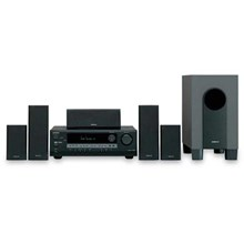 Onkyo HTSR600B Home Entertainment 5.1-Channel Receiver/Speaker Package - BLACK