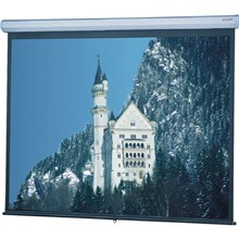 "Da-Lite 79042 133"" Model C Matte White Manual Wall/Ceiling HDTV Projection Screen"