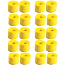 Shure EA120 Foam Earphone Sleeves Yellow