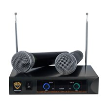 Nady DKWDUO DKW Duo VHF Handheld Wireless Microphone System Channel P and R