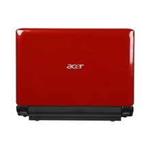 "Acer AO532h-2730 10.1"" Garnet Red Netbook - Up to 8 Hours of Battery Life"