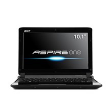 """Acer AO532h-2067 10.1"""" Matrix Silver Netbook - Up to 10 Hours of Battery Life"""