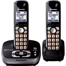 Panasonic KX-TG4032B 1.9 GHz Digital DECT 6.0 2X Handsets Cordless Phone