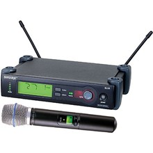 Shure SLX24/BETA87A-G4 SLX Series Wireless Microphone System G4 / 470 - 494 MHz