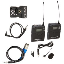 Sennheiser EW 122P G3-G EW122-p G3 Camera Mount Wireless Microphone System with ME4 Lavalier Mic G: 566-608MHz