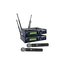 Shure ULXP24D/58-J1 ULX Professional Series - Dual Wireless Handheld Microphone System