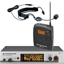Sennheiser EW352G3A EW352 G3 Wireless Bodypack Microphone System with ME3 Headset Mic A / 516 - 558MHz