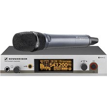 Sennheiser EW345G3B EW345 G3 Wireless Handheld Microphone System with 845 Mic Frequency B / 630 - 662 MHz