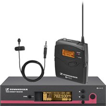 Sennheiser EW 110 G3-B2-US EW110 G3 Wireless Bodypack Microphone System with Omni Lavalier Mic Frequency B