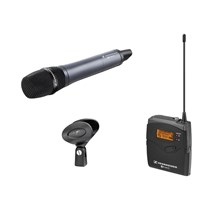 Sennheiser 503109 EW135-p G3 Camera Mount Wireless Microphone System with SKM100 G3 Handheld A / 516 - 558 MHz
