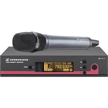 Sennheiser EW 145 G3-G-US EW145 G3 Wireless Handheld Microphone System with E845 Mic Frequency G / 566 - 608 MHz