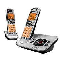 Uniden D1680-2 Expandable Cordless Phone with Digital Answering System