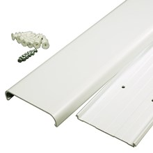 Wiremold CMK30 Flat Screen Television Cord Cover Kit, White