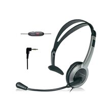 Panasonic KX-TCA430 Microphone Headset for Most Telephones - Black